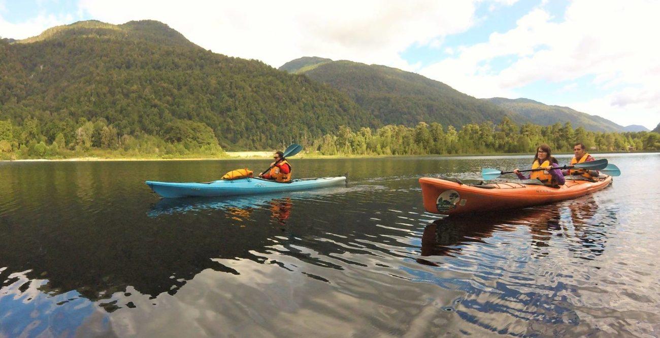 kayak lago risopatron 3