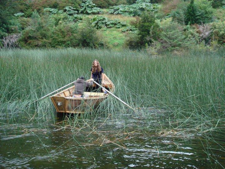 Mackenzie modelo en el lago