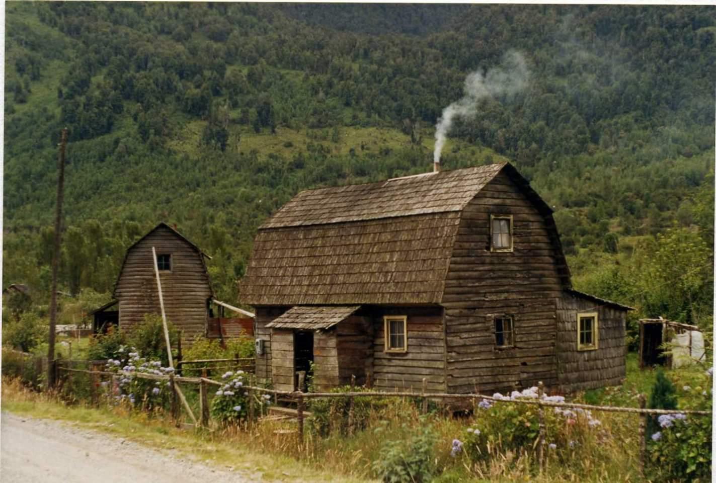 Casas antiguas colonos Puyuhuapi