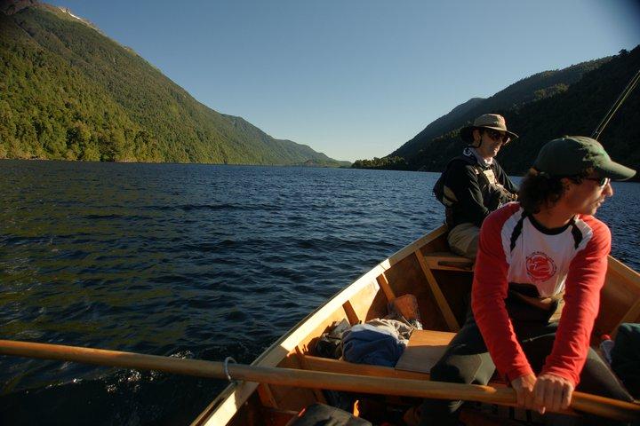Pesca lago Risopatrón