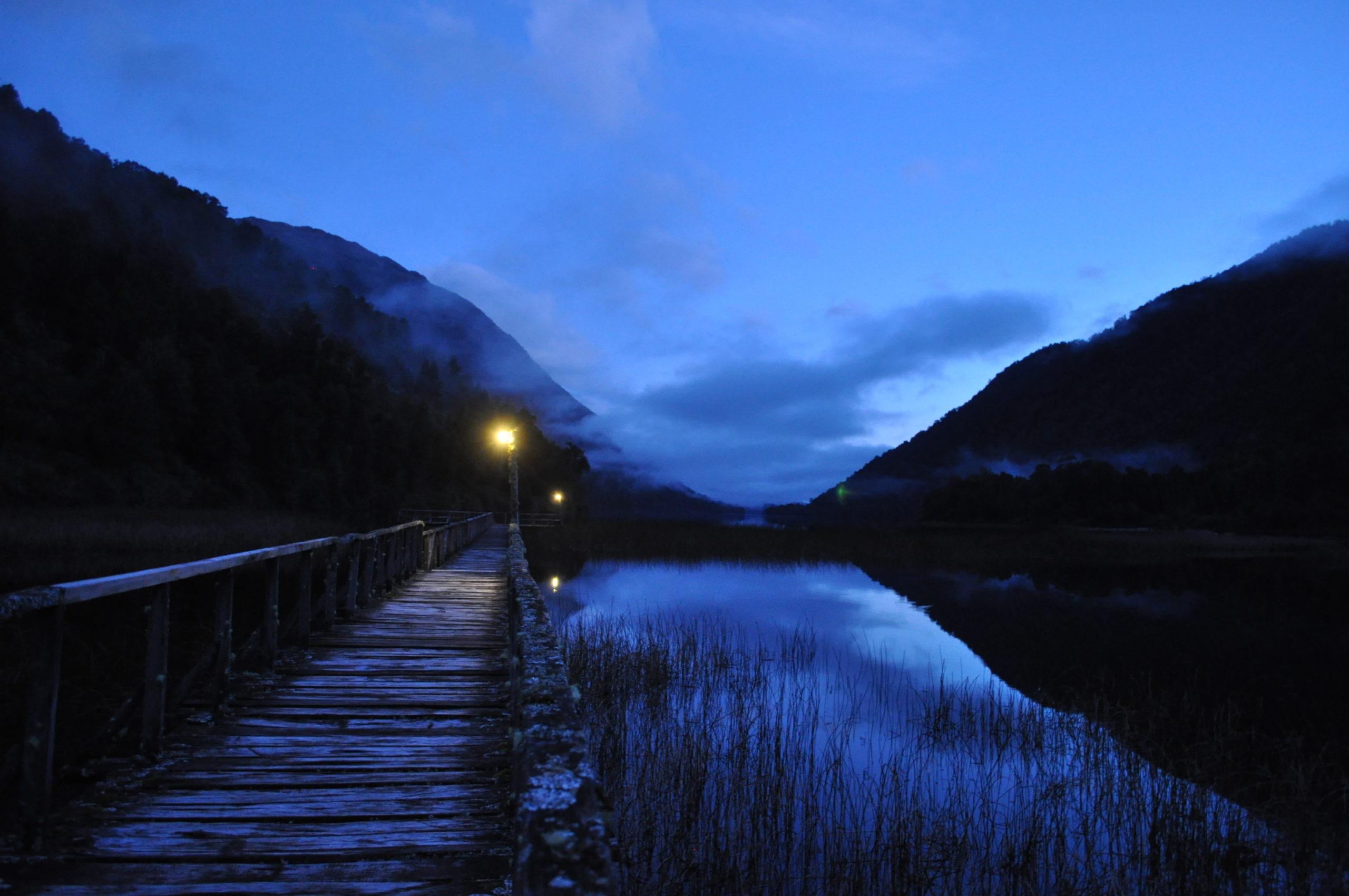 Muelle de noche